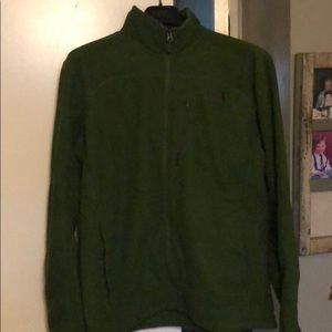 Men's North Face zip up XL